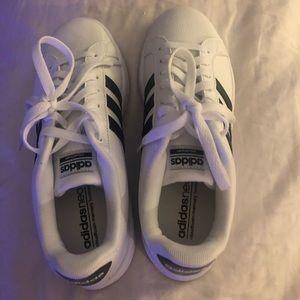 Adidas White sneakers size 8